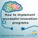 Innovation Series: How to implement successful innovation programs