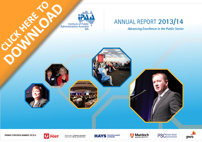 IPAA WA 2013/14 Annual Report now available